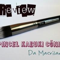 #Review- Pincel Kabuki Cônico da Macrilan