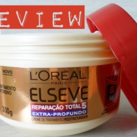# Review – Máscara da Elseve  L´oreal Paris !