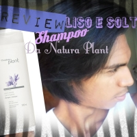#Review do Novo Shampoo Liso e Solto da Natura Plant!
