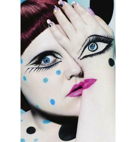 1 - A cantora Beth Ditto numa colaboração super conceitual com a MAC